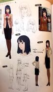 TMS concept art of Ayaka Oribe
