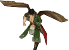 FE10 Tibarn Hawk King (Untransformed) Sprite
