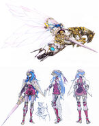 Caeda Sharp-FE Concept Art