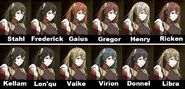 Severa Hair Collage