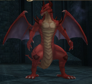 FE10 Red Dragon (Transformed) -Gareth-