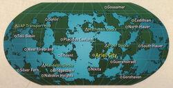 Ariel map