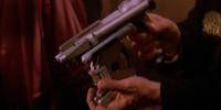 Silk trigger active return bolt laser pistol