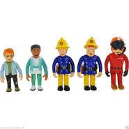 New-Fireman-Sam-5-pack-articulated-figures-Norman- 57