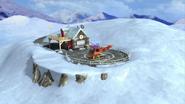 Mountain rescue winter