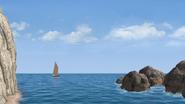 Skiff Pontypandy island