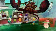 Lobster crashes into Hokey Poke 2