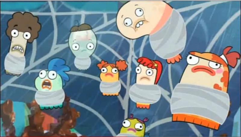 Fish Hooks / Pecezuelos: Temporada 02 Capitulo 16 - Oscar es un galán / Las chicas los prefieren vampiros