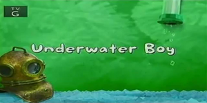 Underwater Boy title card