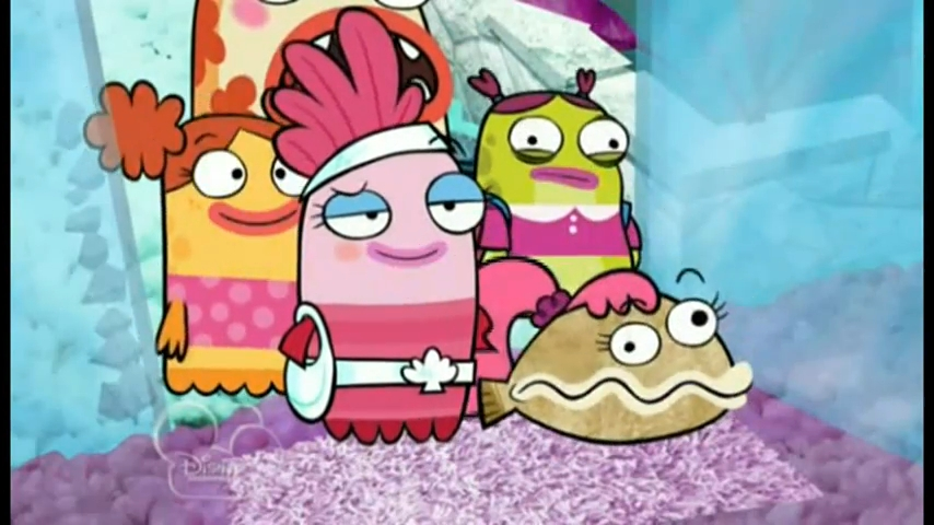 Fish Hooks / Pecezuelos: Temporada 01 Capitulo 02 - Fiesta para chicas / Pulpleito cumple años