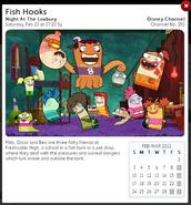 Osn epg fish hooks Night At The Loxbury