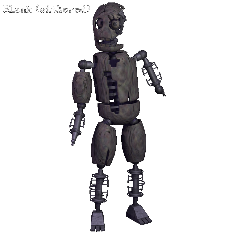 withered blank five nights at candy s wikia fandom powered by