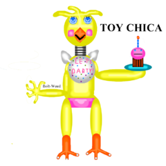 Toy Chica drawing
