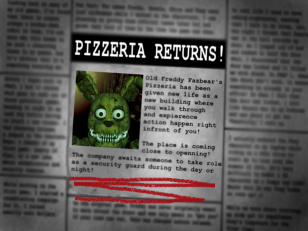 Phone number for freddy fazbears pizzaria - Two Nights At Plushtrap S Five Nights At Freddy S Fanon Wiki Fandom Powered By Wikia