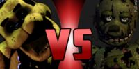 Fazbear Rumble EP 1: Golden Freddy Vs Springtrap