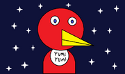 Polly the parrot fanart