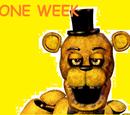 One week at Fredbear's