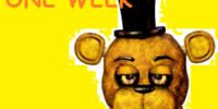 One week at Fredbear's