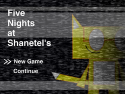 Five Nights at Shanetel's title screen