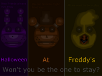 Halloween At freddy's