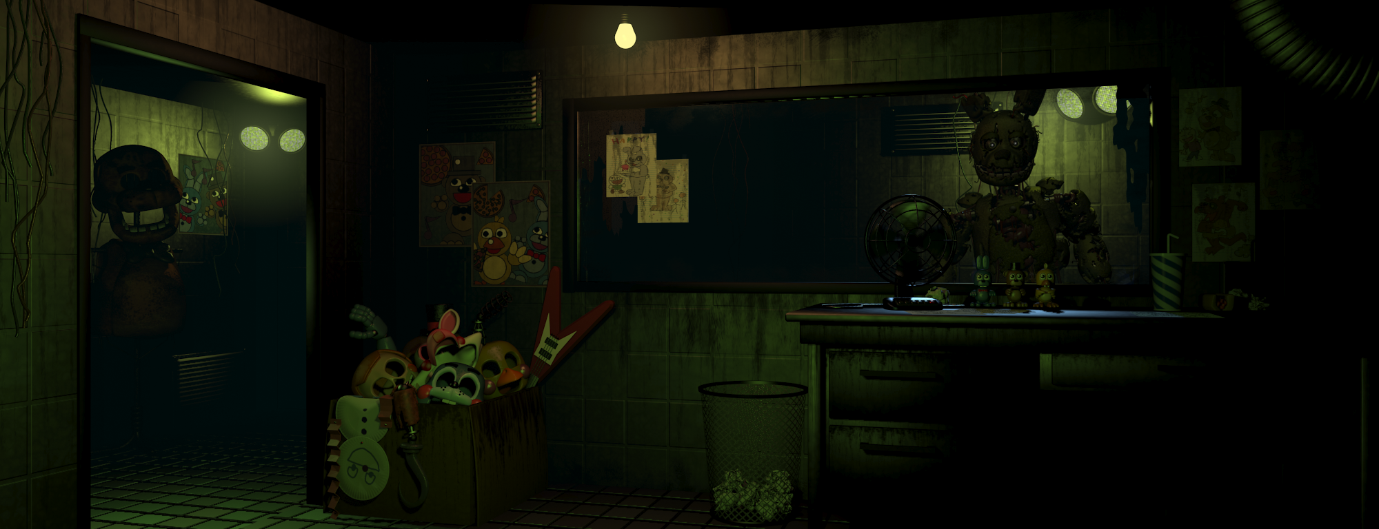 Springtrap In Five Nights