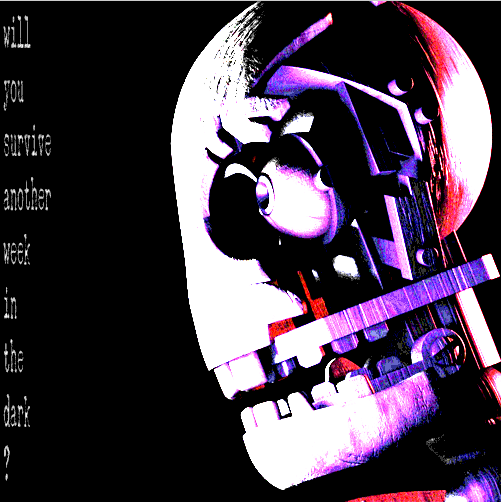 Image - Blank teaser FNaC 2.png | Five Nights at Candy's Wikia ...