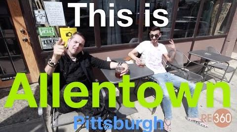 This is Allentown! A neighborhood in Pittsburgh.