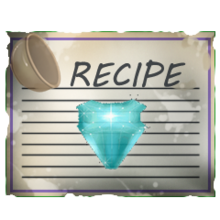 Special aquamarine gem recipe
