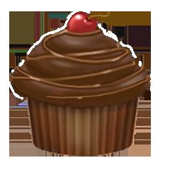 File:Chocolate cupcake.png