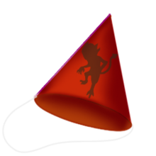 Demonic party hat