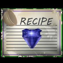 Special Sapphire Gem Recipe