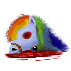 File:Blue pony head.png