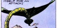 Winged serpent