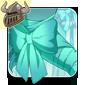 Pretty Aqua Arm Bow