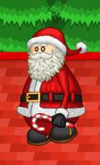 Papa's Pastaria - Santa carrying a candy cane