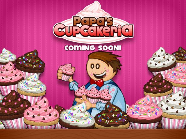 cupcake papa louie