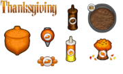 Thanksgiving toppings donuteria by amelia411-d7nsamz