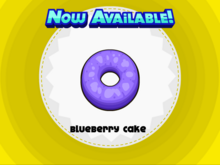 Papa's Donuteria - Blueberry Cake