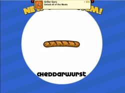 Unlocking cheddarwurst