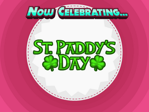 St. Paddy's Day Title Card