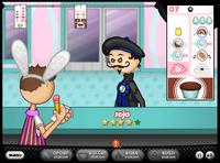 Papa's Cupcakeria - Jojo's order being taken