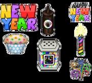 New Year Cupcakeria