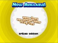 Unlocking grilled chicken