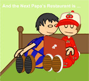 And the next papa s restaurant is