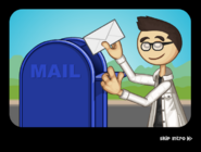 Doan is mailing his invitation