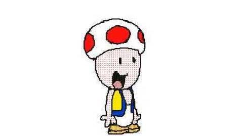 """Toad Says """"Hi!"""" - Flipnote Studio 3D"""