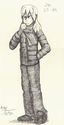 A Recent Ink Drawing from his Deviantart