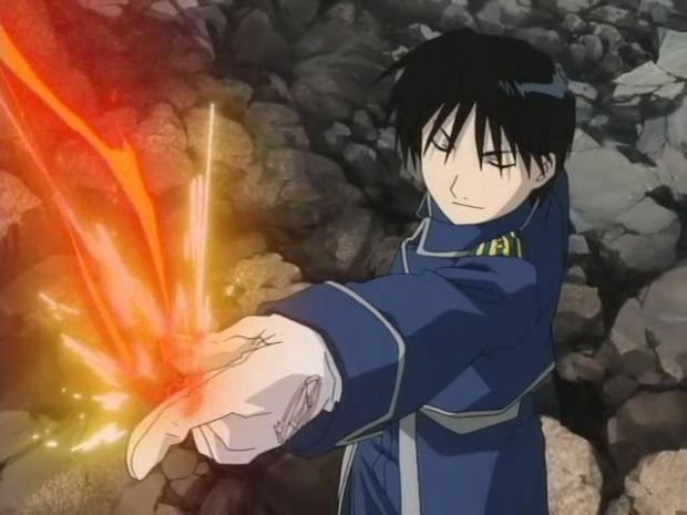 File:Roy Mustang using flame alchamy.jpg