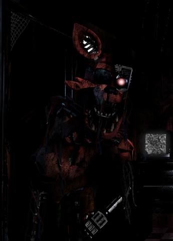 File:Withered fnaf1 foxy by fazboggle-d8fhq5x.png