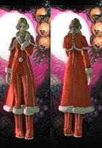 Ellen Costume Cloak of Sidhe Christmas screen